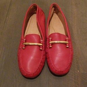 Red Ralph Lauren Flats